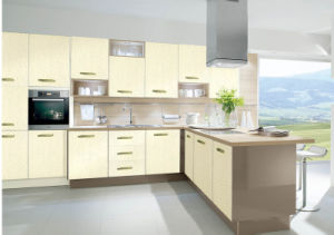 Zhihua Cream Color Kitchen Cabinet pictures & photos