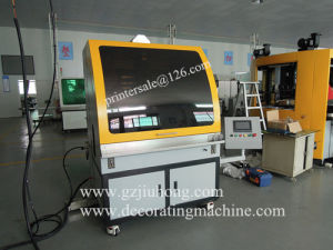 4 Color Full Serve Glass and Plastic Silk Screen Printing Machine pictures & photos
