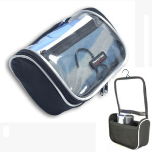 PVC Polyester Ripstop Travel Toiletry Cosmetic Bag Vanity pictures & photos