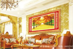 Diamond Painting, Golden Boulevard (H9007) pictures & photos