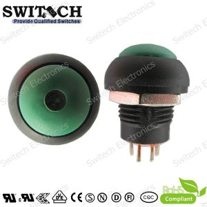 SGS Round Miniature Micro Push Button Switch Used in Power System
