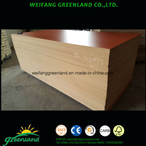 Laminated MDF 1220X2440mm Furniture Usage with Embossed Finish pictures & photos