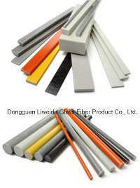 High Strength and Anti-Flame Fiberglass Rod, FRP Bars/Rods