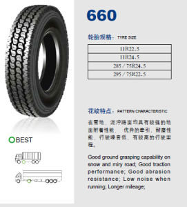 Annaite Brand New Radial Truck Tyre (11r22.5 11R24.5 295/75R22.5 285/75R24.5) pictures & photos