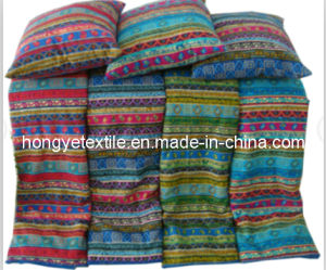 100% Cotton Ethnic Printed Super Soft Blanket, Reverse Quliting Sherpa Throw, Double Face Blanket