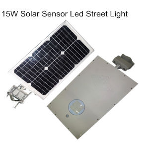 15W Integrated All in One Solar Powered Street Lighting pictures & photos