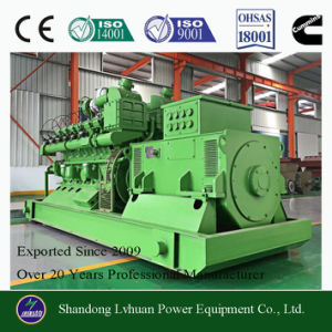 10kw to 600kw Biomass Electric Power Generator Suitable for Gasification Gas pictures & photos