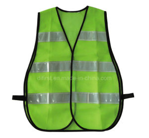Reflective Vest with 5cm Crystal Tape (DFV1098) pictures & photos