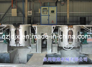 Intermediate Frequency Induction Furnace (0.75T/ 1T/ 8T/ 100KG) pictures & photos