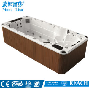 4.8 Meter Lucite Acrylic Outdoor Swim SPA Massage Hot Tub (M-3370) pictures & photos