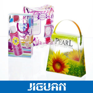 Excellent PVC Transparent Decorative Window Paper Display Box pictures & photos