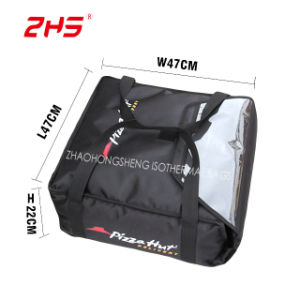 18 Black Insulated Thermal Pizza Hut Carry Out Delivery Bags