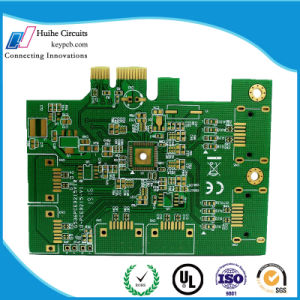 china 2 layer enig gold finger printed circuit board of custom pcb rh huihepcb en made in china com