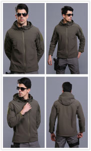 Outdoor Men′s Archon Softshell Tactical Hunting Camping Jacket pictures & photos