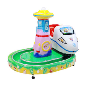 Little Train Arcade Machine Kids Racing Car Kids Ride pictures & photos