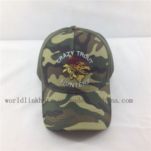 2fb308fe1bec2 Custom Your Own Design Camo Trucker Cap with Digital Printed Embroidered  Logo