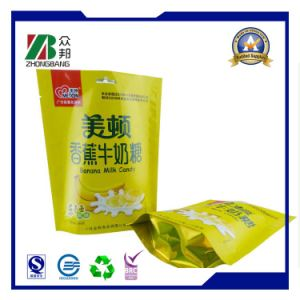Food Grade Plastic Packaging Bag for Whey Protein Vitamin Supplement pictures & photos
