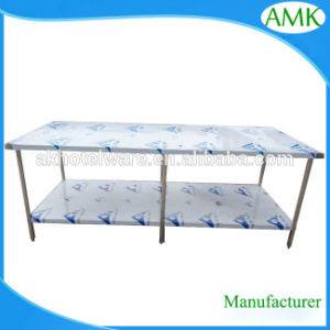 Customized Size Guangzhou Facotry Kitchen Stainless Steel Work Table/Dining  Table Base/Commercial Fish