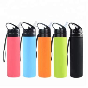 04683b85f04e New Style Plastic TPU Collapsible Water Bottle, BPA Free Foldable Water  Bottle