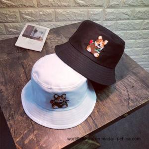 c782e970700 Promotion Embroidery Logo Cotton Twill Cartoon Bucket Cap Fisherman Cap