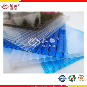Clear 4mm Twin Wall Polycarbonate Roofing Sheets Suppliers pictures & photos