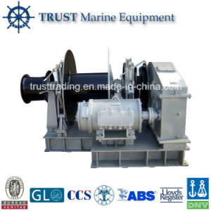 Manufacturer of High Quality Electric Hydraulic Fishing Winch pictures & photos