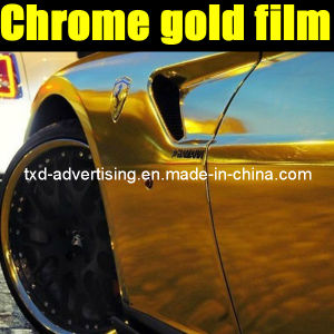 High Quality Car Chrome Wrap Vinyl Film