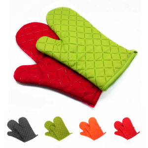 Silicone Hot Kitchen Pot Holder Glove Oven Mit (EB-93256-1) pictures & photos