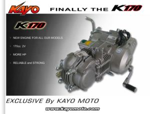 Motorcycle Engine K170 for Pit Bike Racing