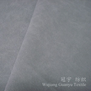Nylon Polyester Corduroy 6W Fabric for Decoration pictures & photos