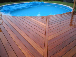 Factory Price Swimming Pool Outdoor Decking (BTD-III)