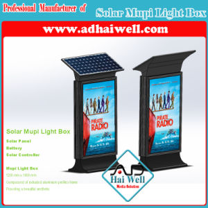 Solar Mupi Light Box Advertising Light Box pictures & photos