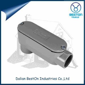 Electrical Aluminum Threaded Type Lb Conduit Body pictures & photos