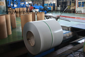 Ral9003 and Ral9010 Color Coated Galvanized Steel Coil PPGI pictures & photos