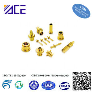 Precision Custom Machining Copper Steel Brass Fitting pictures & photos