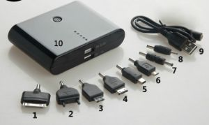 Power Bank 12000mAh Mobile Phone, Portable Power Station