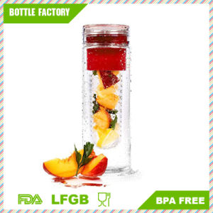 Wide Mouth Fruit Water Bottle with Infusion 700ml pictures & photos