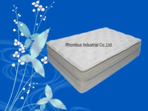Bamboo Fabric Gel Cool Memory Foam Hotel Mattress (RH011)