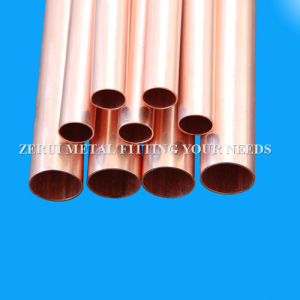 Straight Copper Pipe Tube for Medical Gas pictures & photos