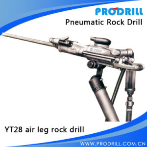 Portable Pneumatic/Hand Hold Rock Drill for Secondary Crushing pictures & photos
