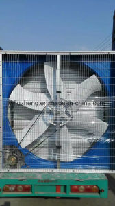 Air to Water Fin Tube Heat Exchanger with Draught Fan, Exhaust Air Duct Fan pictures & photos