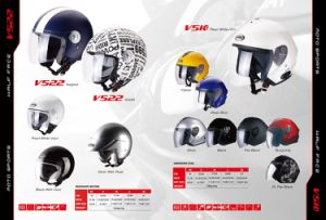Helmet Half Face, China Top Quality, ECE, DOT