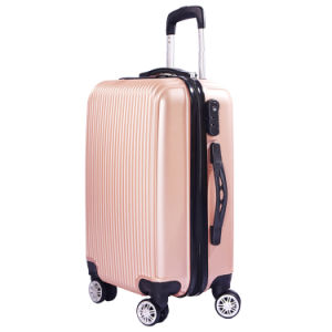 ABS Luggage with Spinner Wheels for Travel