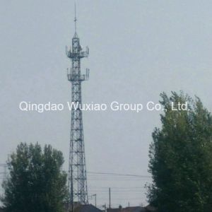 Microwave Signal Communication Steel Tower pictures & photos