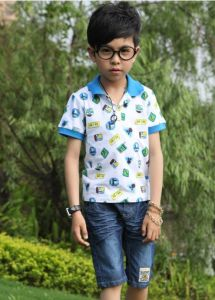 Custom High Quality Cotton Children Polo Shirt Design pictures & photos