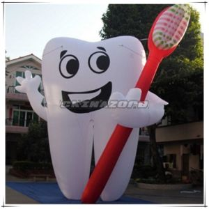 Good Tooth Inflatable Advertising Replica for Dental Clinic advertisement