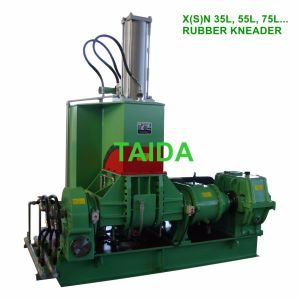 10, 20, 35, 55, 75, 110L Rubber Compounding Mixer Banbury Pressurized Dispersion Kneader pictures & photos