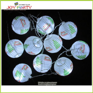 "3"" Paper Lantern String Light Christmas Lighting Decoration"