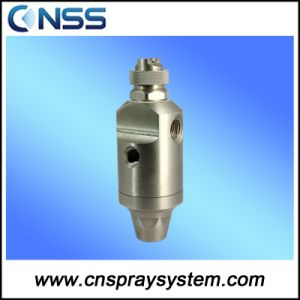 Compressed Air Atomizing Nozzle Stainless Steel Fog Nozzle pictures & photos