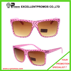 Hot Sale Eco-Friendly Star Logo Printed Custom Fashion Sunglass for Ladies (EP-G9204) pictures & photos